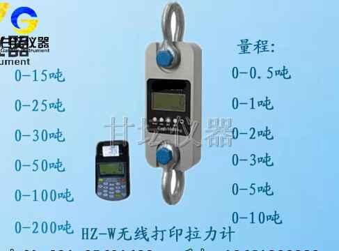 一体式电子拉力计 量程10吨/T 分度值5kg